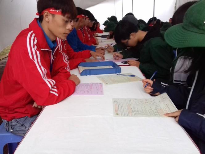 Hàng ngàn sinh viên Thủ đô tham gia hiến máu tại Chủ nhật Đỏ - ảnh 10