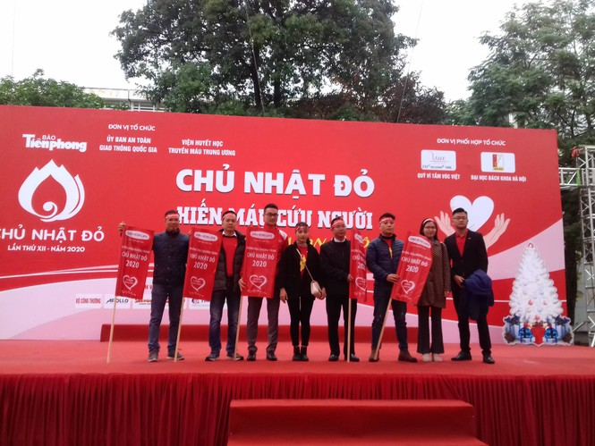Hàng ngàn sinh viên Thủ đô tham gia hiến máu tại Chủ nhật Đỏ - ảnh 6