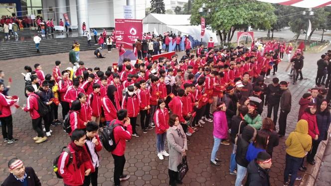 Hàng ngàn sinh viên Thủ đô tham gia hiến máu tại Chủ nhật Đỏ - ảnh 3