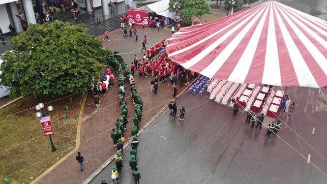 Hàng ngàn sinh viên Thủ đô tham gia hiến máu tại Chủ nhật Đỏ - ảnh 4