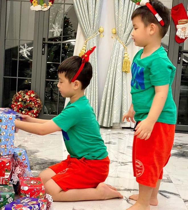 Ngất ngây ngắm loạt biệt thự của sao Việt lộng lẫy đón Giáng Sinh  - ảnh 14