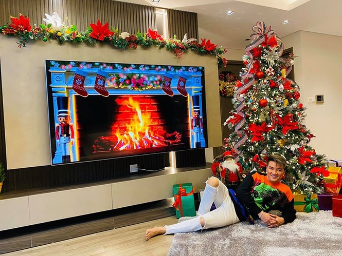 Ngất ngây ngắm loạt biệt thự của sao Việt lộng lẫy đón Giáng Sinh  - ảnh 15