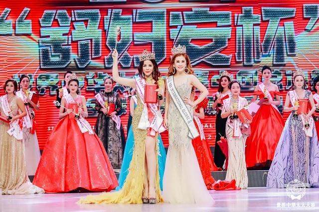 Đại diện Việt Nam Oanh Lê đăng quang Mrs International World 2019 - ảnh 2