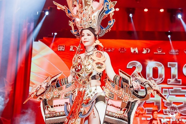 Đại diện Việt Nam Oanh Lê đăng quang Mrs International World 2019 - ảnh 9