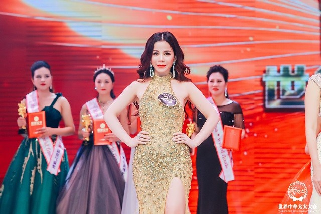 Đại diện Việt Nam Oanh Lê đăng quang Mrs International World 2019 - ảnh 1