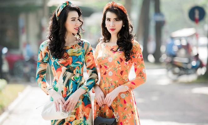 Huyền Thư tìm được hạnh phúc mới sau ly hôn, tái xuất gợi cảm với áo dài Xuân - ảnh 3