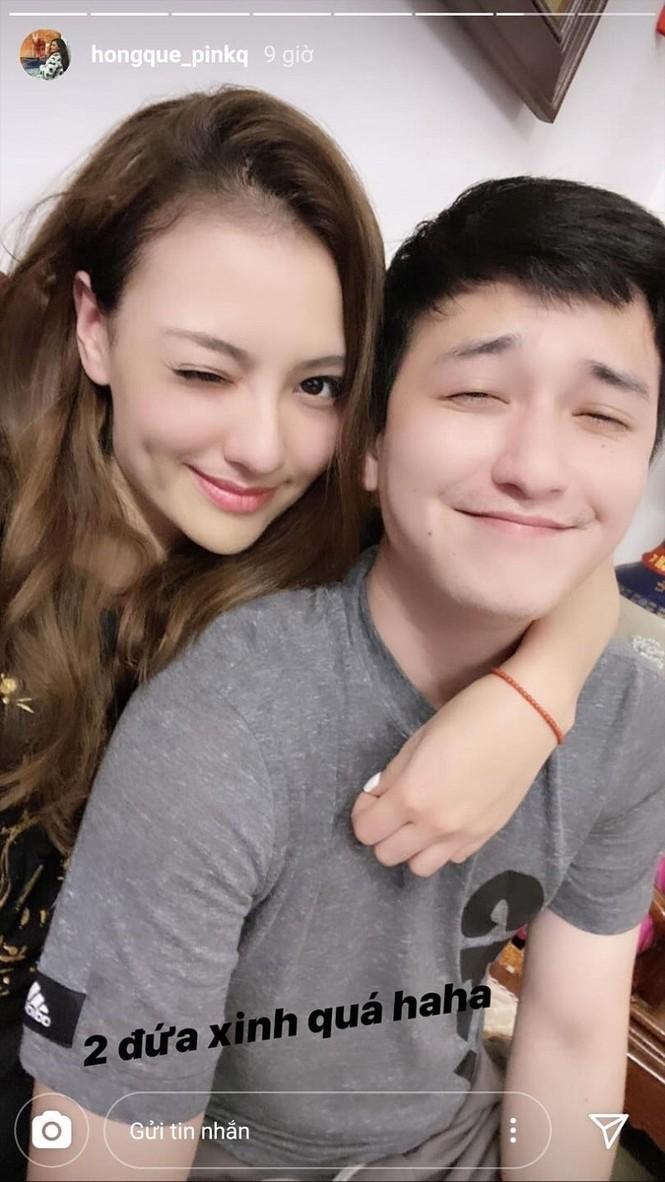 Hồng Quế đăng ảnh tình tứ với Huỳnh Anh, 'dằn mặt' anti-fan khi bị nghi là 'người thứ 3' - ảnh 1