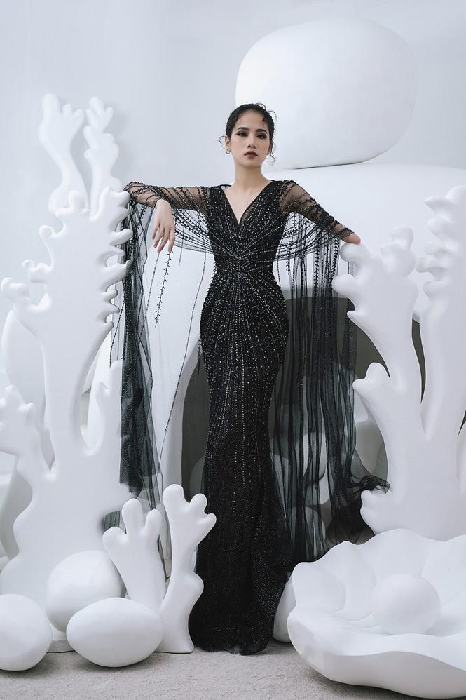 Nữ người mẫu bị khuyết tay Hà Phương 'tái xuất', khoe thần thái 'đỉnh cao' với váy dạ hội - ảnh 7