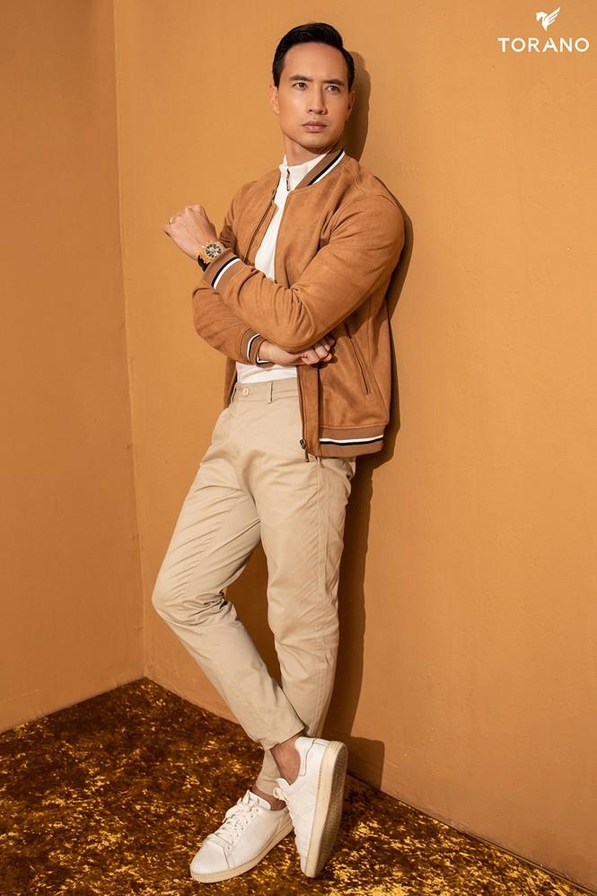 Diễn viên Kim Lý lịch lãm và đầy nam tính trong bộ sưu tập mới của TORANO - ảnh 7