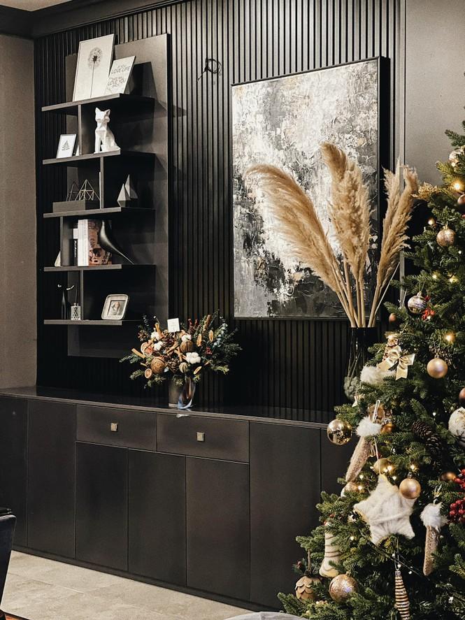 Dàn Hoa hậu, Á hậu trang hoàng nhà cửa lộng lẫy chuẩn bị đón Giáng Sinh  - ảnh 4