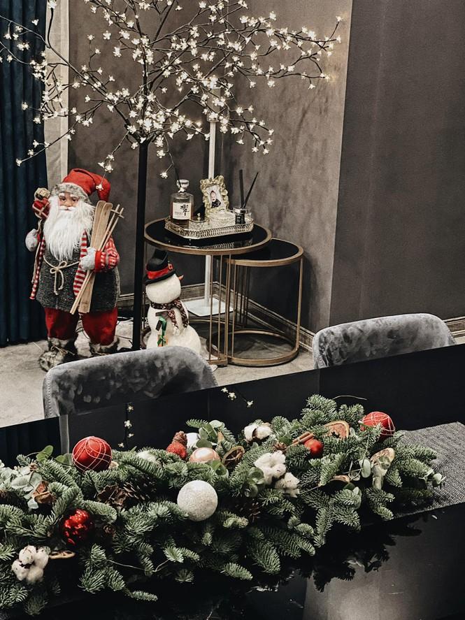 Dàn Hoa hậu, Á hậu trang hoàng nhà cửa lộng lẫy chuẩn bị đón Giáng Sinh  - ảnh 6