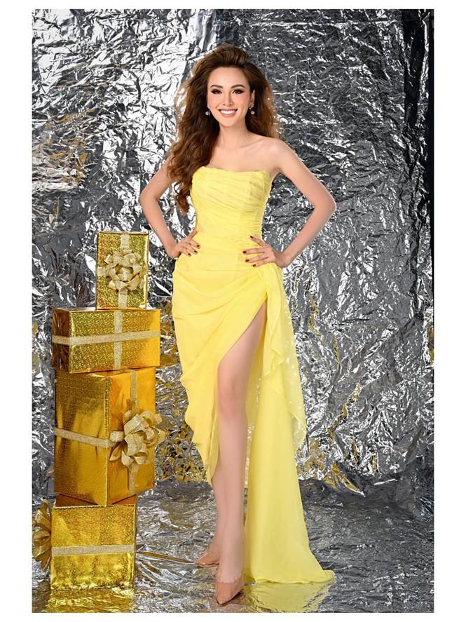 Dàn Hoa hậu, Á hậu trang hoàng nhà cửa lộng lẫy chuẩn bị đón Giáng Sinh  - ảnh 15