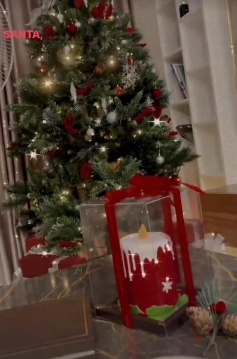 Dàn Hoa hậu, Á hậu trang hoàng nhà cửa lộng lẫy chuẩn bị đón Giáng Sinh  - ảnh 11