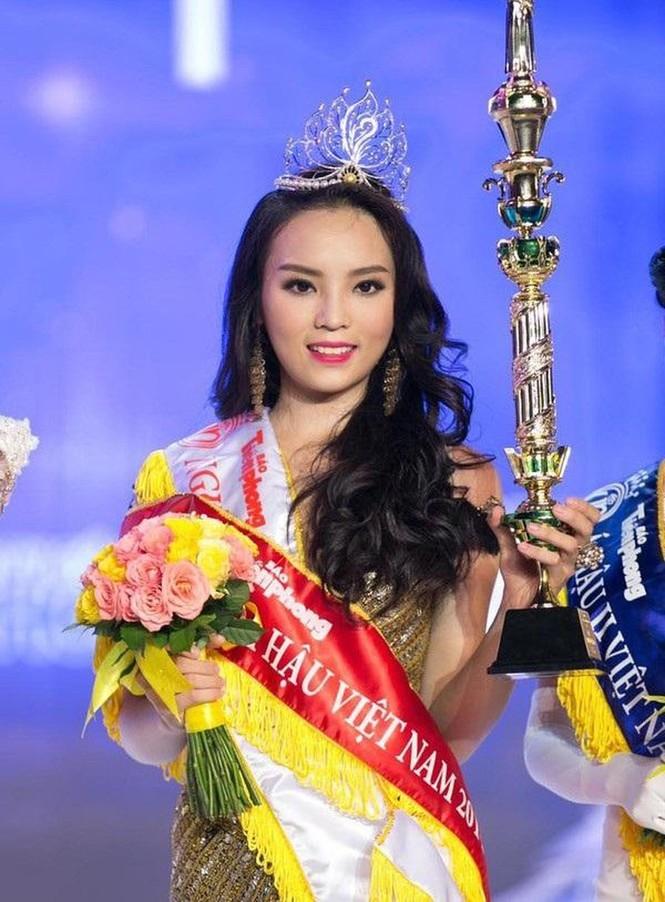 Top 3 HHVN 2014: Kỳ Duyên-Huyền My miệt mài hoạt động showbiz, Diễm Trang yên bề gia thất - ảnh 1