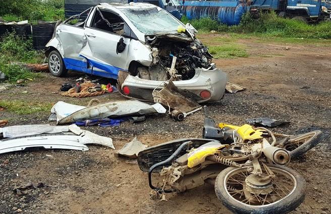 Tạm giam nữ tài xế taxi gây tai nạn khiến 7 người thương vong - ảnh 1