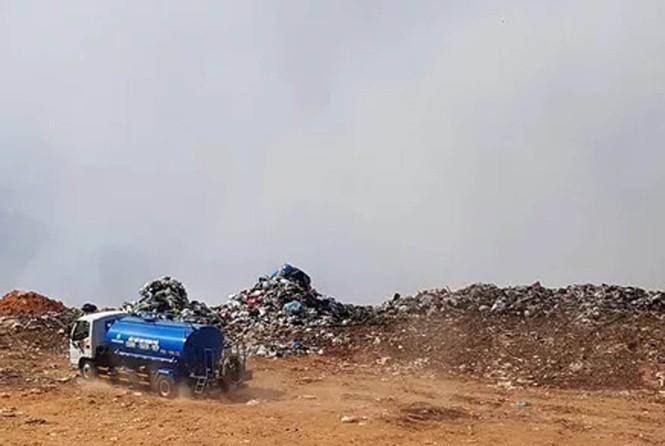 Mới nhất vụ Núi rác Cam Ly bốc cháy suốt 3 ngày, khói bụi mịt mù bao trùm Đà Lạt - ảnh 2
