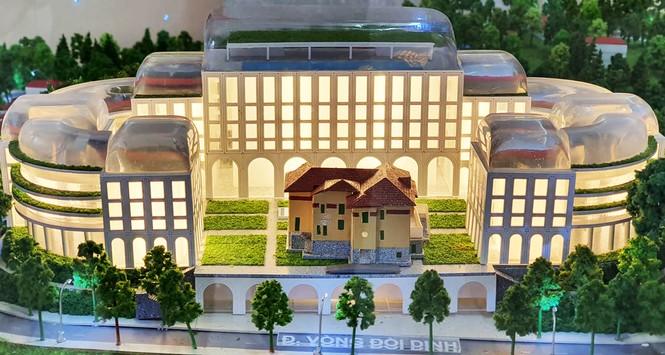 Hàng chục kiến trúc sư phản ứng chuyện xây khách sạn ở Dinh tỉnh trưởng  - ảnh 1