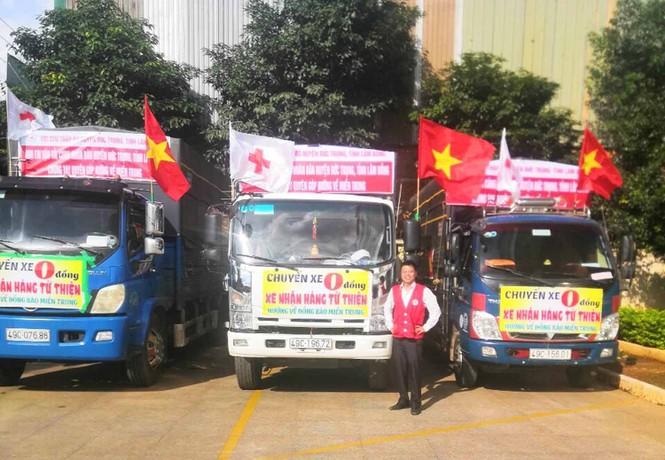 Nhiều chuyến xe 0 đồng chở hàng cứu trợ miền Trung  - ảnh 4