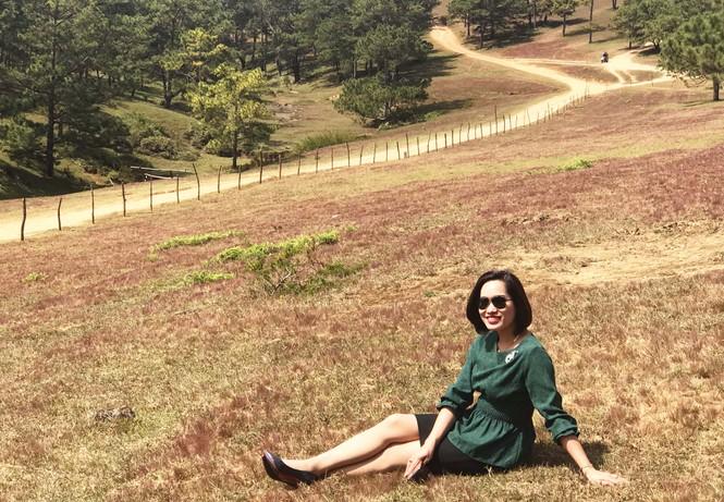 Đồi cỏ hồng Lâm Đồng khiến du khách mê mẩn - ảnh 4