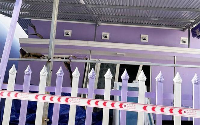 Xây khách sạn 5 tầng hầm gây sự cố, phải bồi thường cho 12 hộ dân - ảnh 2