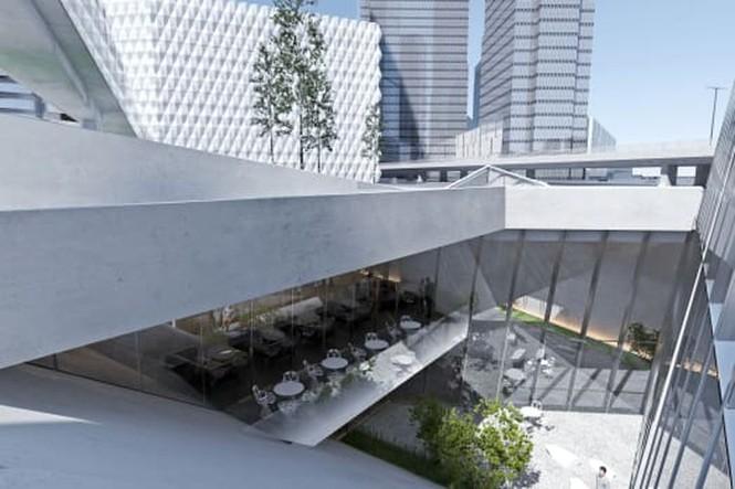 Tòa nhà 'siêu mỏng' cao 404 m, diện tích chỉ 32 m2 sắp xuất hiện ở Nga - ảnh 2