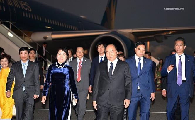 Thủ tướng Nguyễn Xuân Phúc đã đến Tokyo, Nhật Bản - ảnh 2