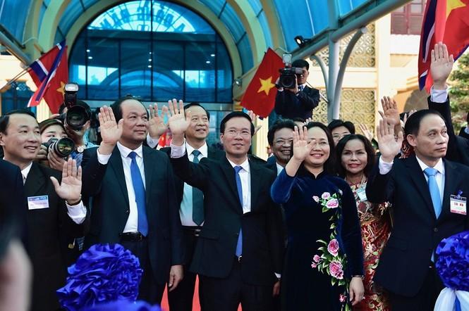 Lãnh đạo Đảng, Nhà nước tiễn Chủ tịch Kim lên tàu về nước - ảnh 8