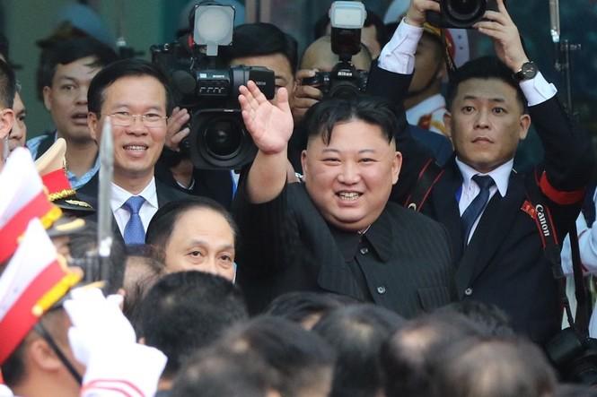 Lãnh đạo Đảng, Nhà nước tiễn Chủ tịch Kim lên tàu về nước - ảnh 5