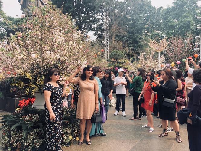 Những hình ảnh đẹp tại lễ hội hoa anh đào - ảnh 5