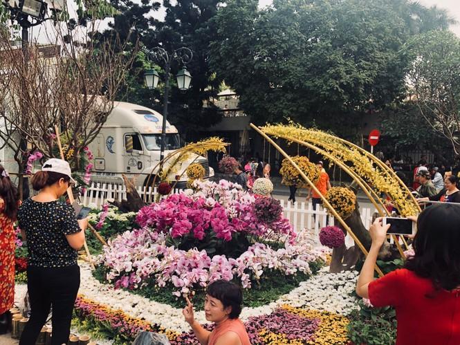 Những hình ảnh đẹp tại lễ hội hoa anh đào - ảnh 8
