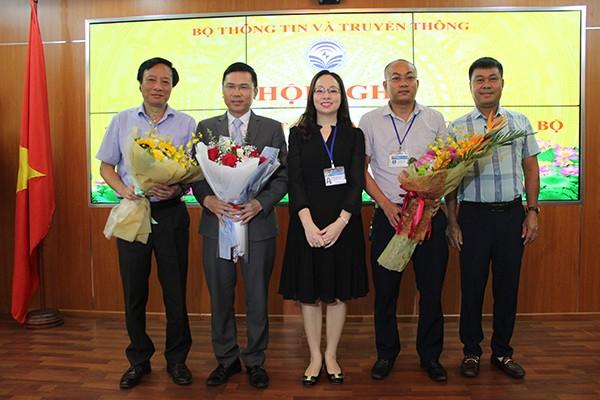 Bộ trưởng TT&TT trao quyết định bổ nhiệm Tổng biên tập báo VietNamNet - ảnh 2
