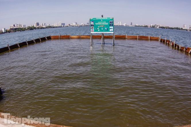 Vì sao bất ngờ tháo dỡ khu thí điểm làm sạch nước sông Tô Lịch? - ảnh 8