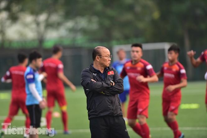 Đình Trọng tập luyện chính thức cùng U22 Việt Nam - ảnh 2
