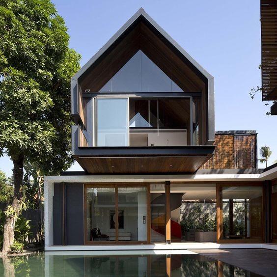 Những kiểu nhà mái và mặt tiền khác biệt gây tò mò nhưng siêu ấn tượng - ảnh 1