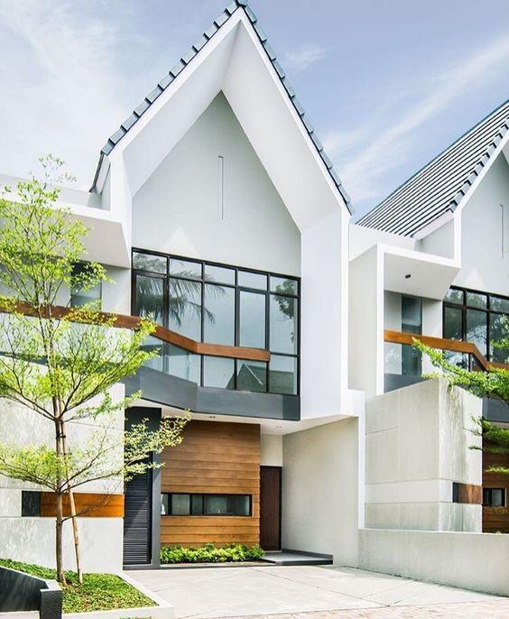 Những kiểu nhà mái và mặt tiền khác biệt gây tò mò nhưng siêu ấn tượng - ảnh 3