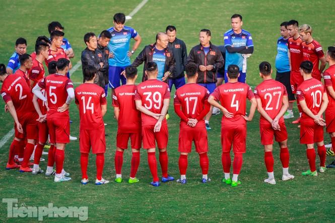 Park Hang Seo 'tung' giáo án lạ trước trận gặp UAE - ảnh 1