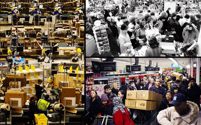Black Friday bùng nổ tại các cửa hàng khắp thế giới - ảnh 4