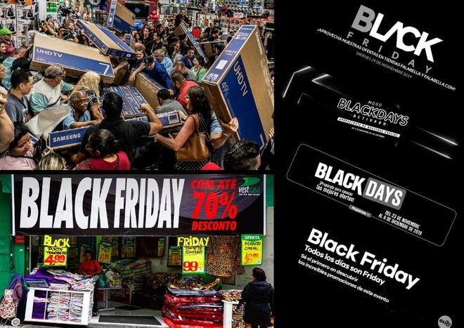 Black Friday bùng nổ tại các cửa hàng khắp thế giới - ảnh 6
