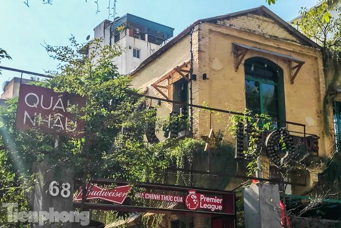 Biệt thự cổ Hà Nội thi nhau thành nhà hàng, quán nhậu - ảnh 10