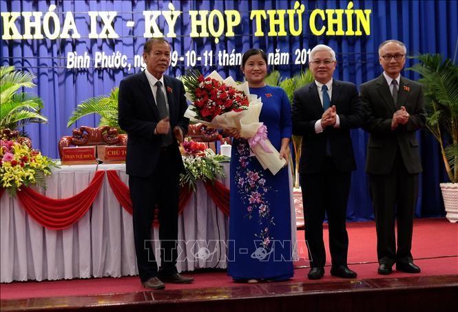 Bình Phước có nữ Chủ tịch tỉnh - ảnh 1