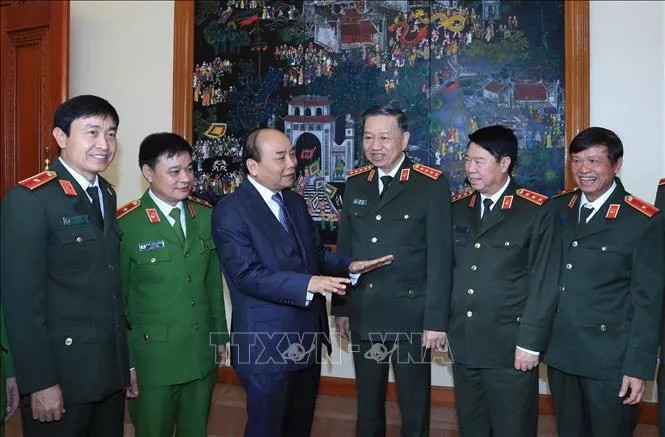 Thủ tướng Nguyễn Xuân Phúc chỉ đạo tại Hội nghị Đảng ủy Công an Trung ương - ảnh 1