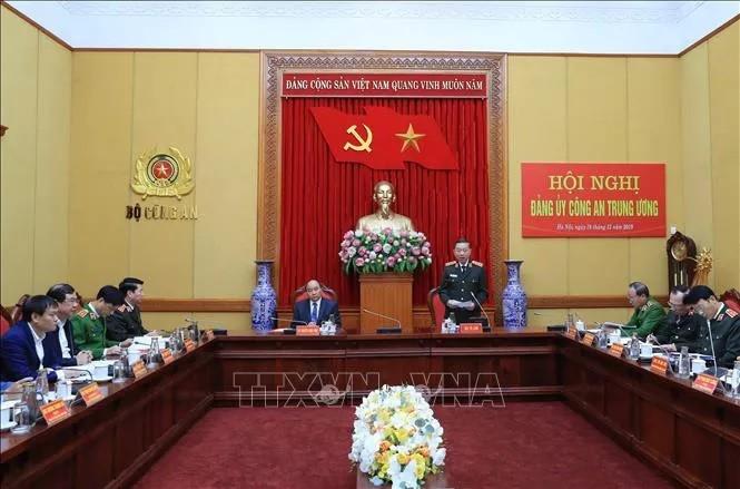 Thủ tướng Nguyễn Xuân Phúc chỉ đạo tại Hội nghị Đảng ủy Công an Trung ương - ảnh 2