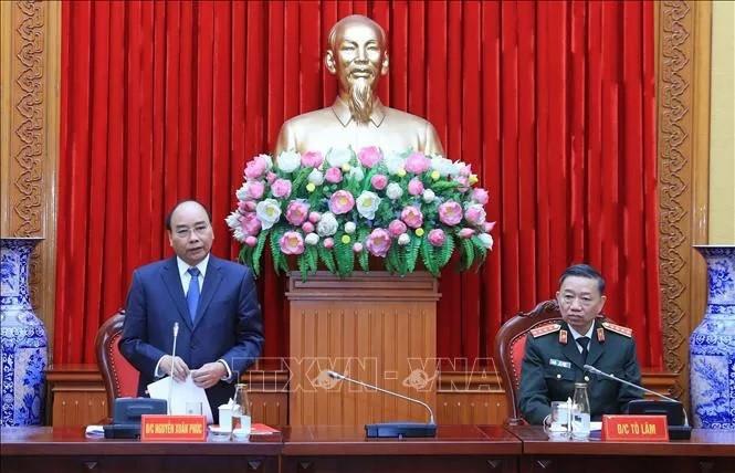 Thủ tướng Nguyễn Xuân Phúc chỉ đạo tại Hội nghị Đảng ủy Công an Trung ương - ảnh 3