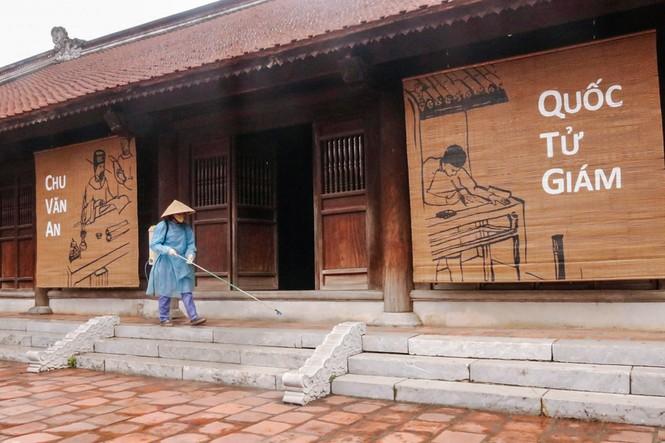 Di tích, đền chùa Hà Nội sẵn sàng mở cửa trở lại đón khách du xuân muộn - ảnh 5