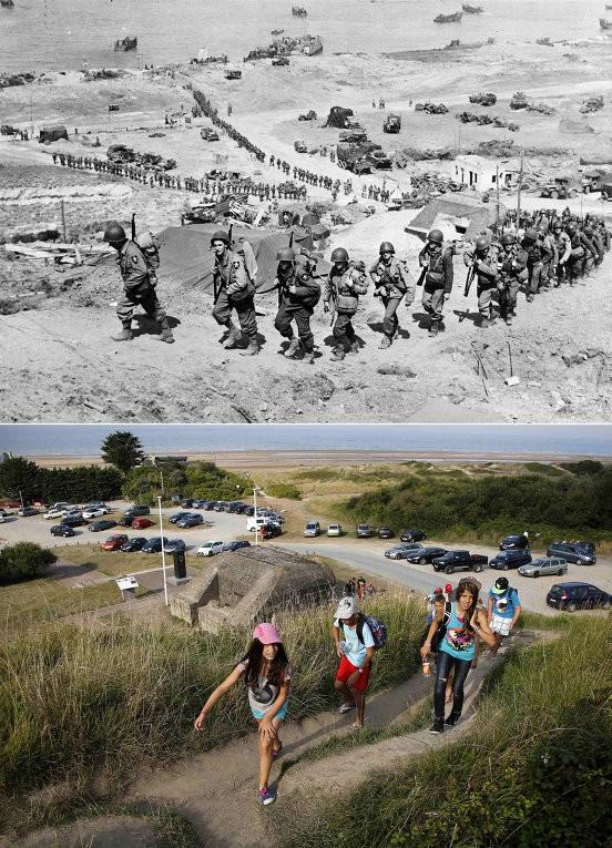Chiến trường Normandy, quá khứ và hiện tại - ảnh 1