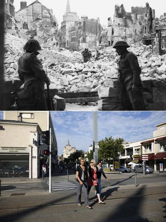Chiến trường Normandy, quá khứ và hiện tại - ảnh 2