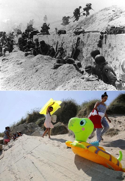 Chiến trường Normandy, quá khứ và hiện tại - ảnh 4