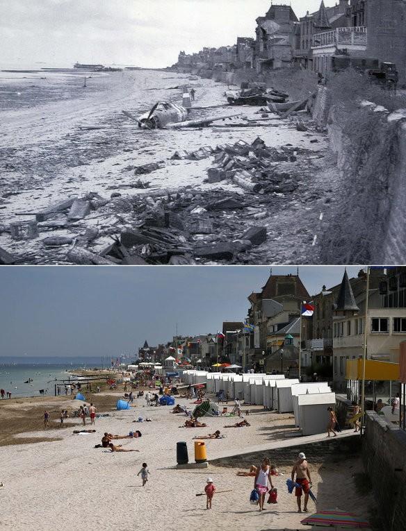 Chiến trường Normandy, quá khứ và hiện tại - ảnh 5