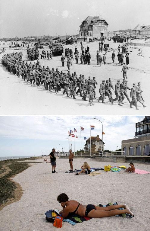 Chiến trường Normandy, quá khứ và hiện tại - ảnh 7