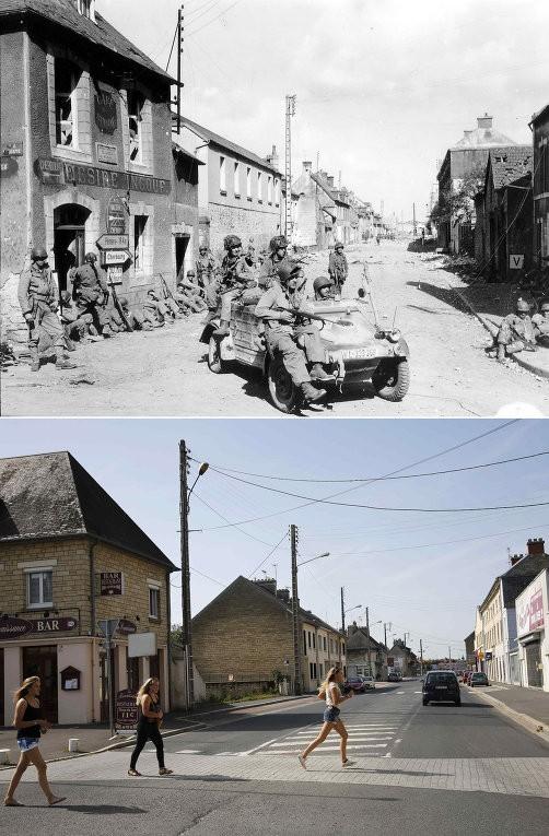 Chiến trường Normandy, quá khứ và hiện tại - ảnh 8